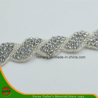 Granos al por mayor Rhinestone Sash Trim, precio barato Wedding Belt Trim (HAHD160001)