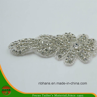 Venta al por mayor Crystal Rhinestone Belt on on Women Dress (HADA160005)
