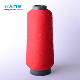 Hans China Proveedor Color brillante hilo texturado