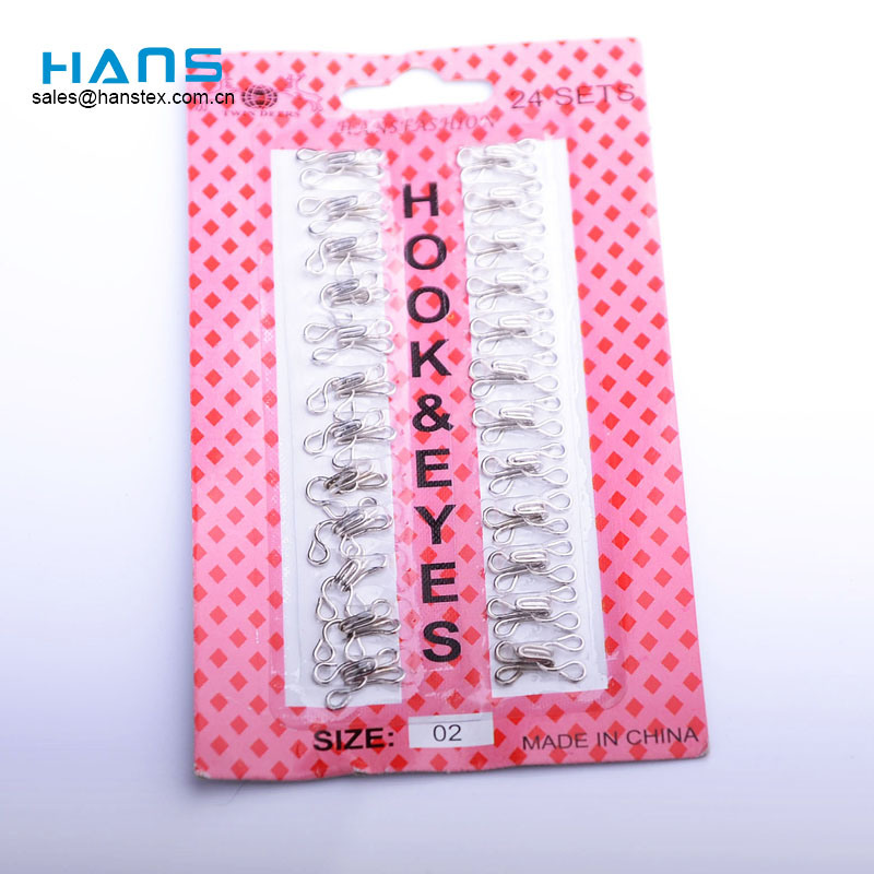 Hans Fabricantes en China Lucky Metal Hooks for Bra