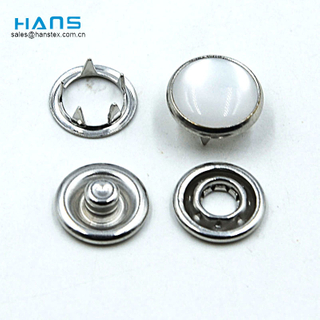 Hans Fabricantes en China Moda Pearl Prong Snap Button