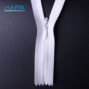 Hans Direct From China Factory Calidad Premium Invisible Zipper 60cm