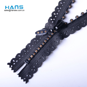 Hans Custom Promoción Color Fancy Zipper